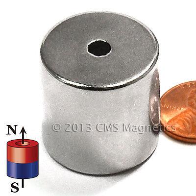 "Neodymium N42  1""ODx.1875""IDx1""H NdFeB Rare Earth Rings Lot 10"