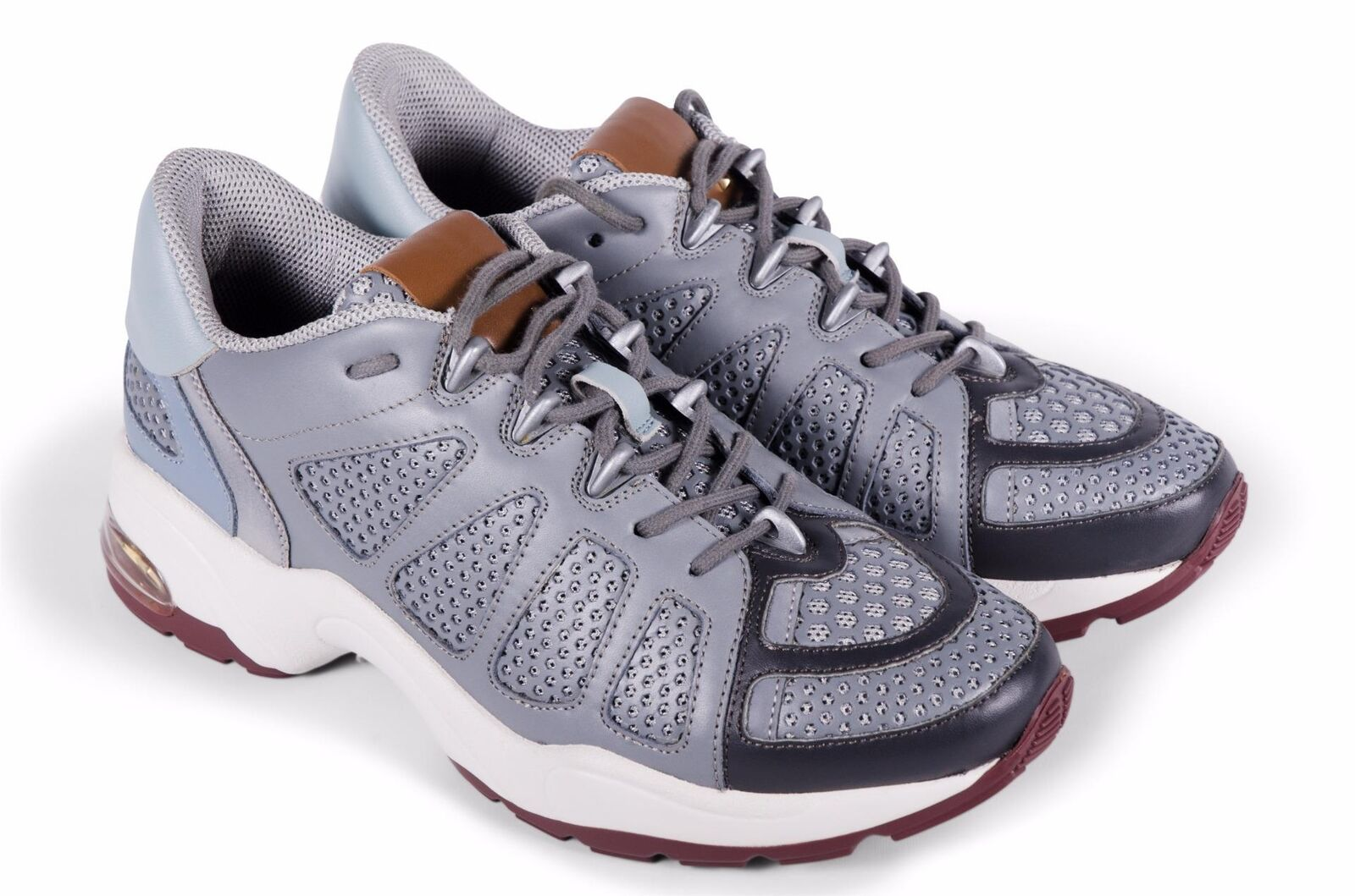Valentino Men's shoes Fashion Sneakers Grey 8 UK 9 US 42 EU NEW