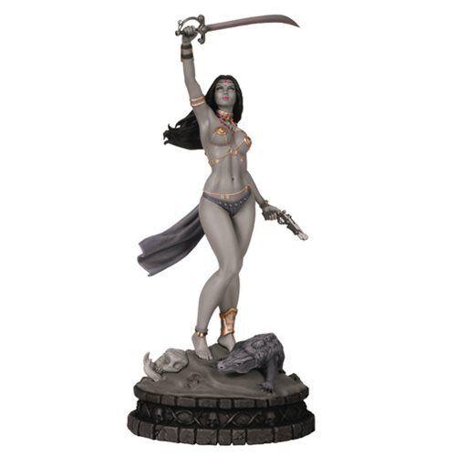 Mujeres de dinamita: Blanco y Negro Dejah Thoris Estatua edición de prueba de artista