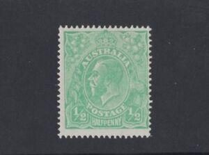 1918-Australia-KGV-1-2d-green-large-multi-wmk-SG-48-mlh