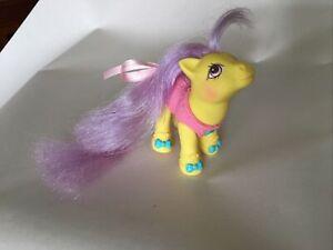 My Little Pony Vintage G1 Baby Toe Dancer Baby Ballerina Ponies Yr 9 1990