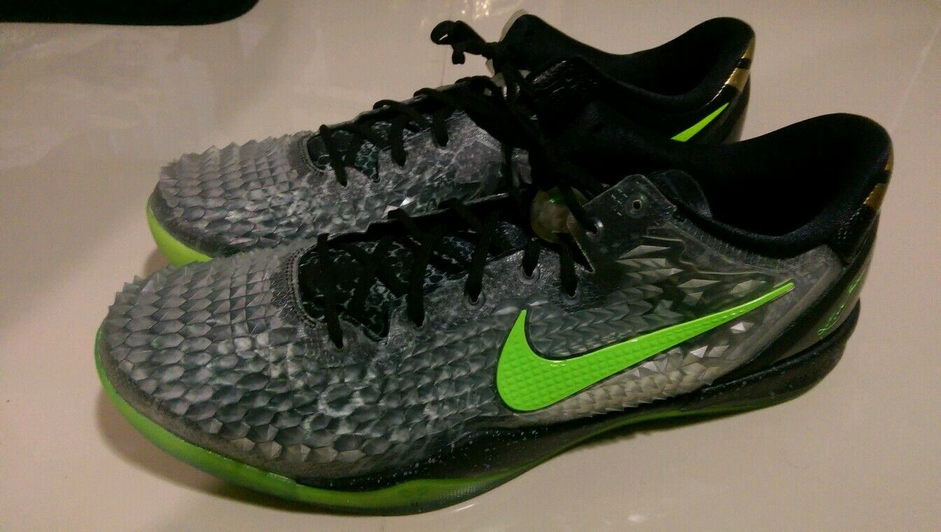 Nike KOBE 8 VIII System SS Christmas Basketball Shoes Sz Kicks ...