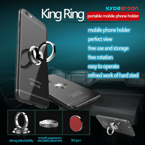Details about 2018 360° Multifunction Mobile Phone Magnetic Ring Holder  Holds Smartphone Stand