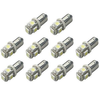 Wholesale 10 X BA9S 1895 57 T4W 182 5 5050 SMD LED White Car Lights Lamp Bulb