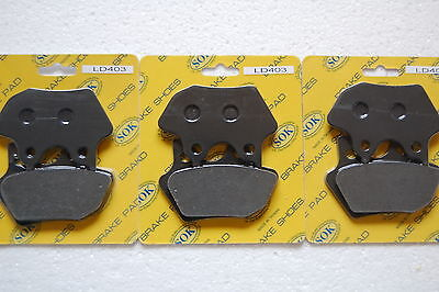 FRONT BRAKE PADS fits HARLEY DAVIDSON Ultra Classic 00-04 FLTCUi 01 02 03