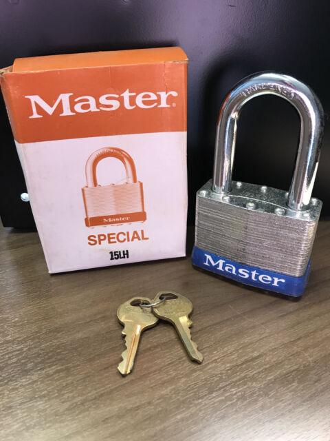 Master Lock Padlock 15LH, KD, Heavy Duty Lock!