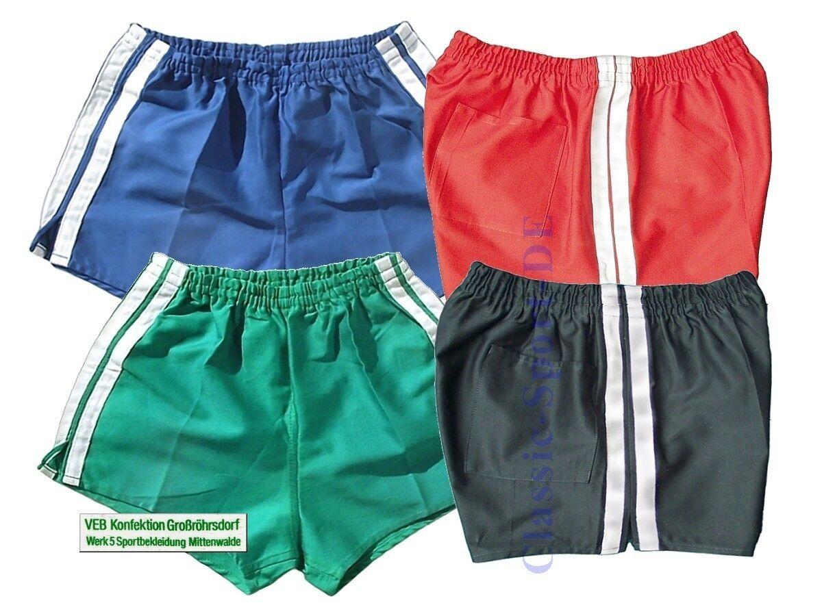 4x orig. 80er DDR Baumwoll Shorts Gr.44=S neu