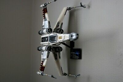 Ultimate Display Solutions wall mount display for Lego UCS 75095 Tie Fighter and 75181 Y-wing 10240 X-wing