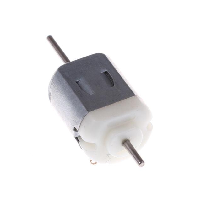 2Pcs 130 Double Output Shaft Dc Motor 1.5V-12V 5400Rpm Diy Model Making KW DR