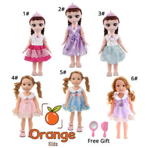 60b726b6e0b 5 Pcs Doll Clothes Fashion Party Dress Outfit for 14