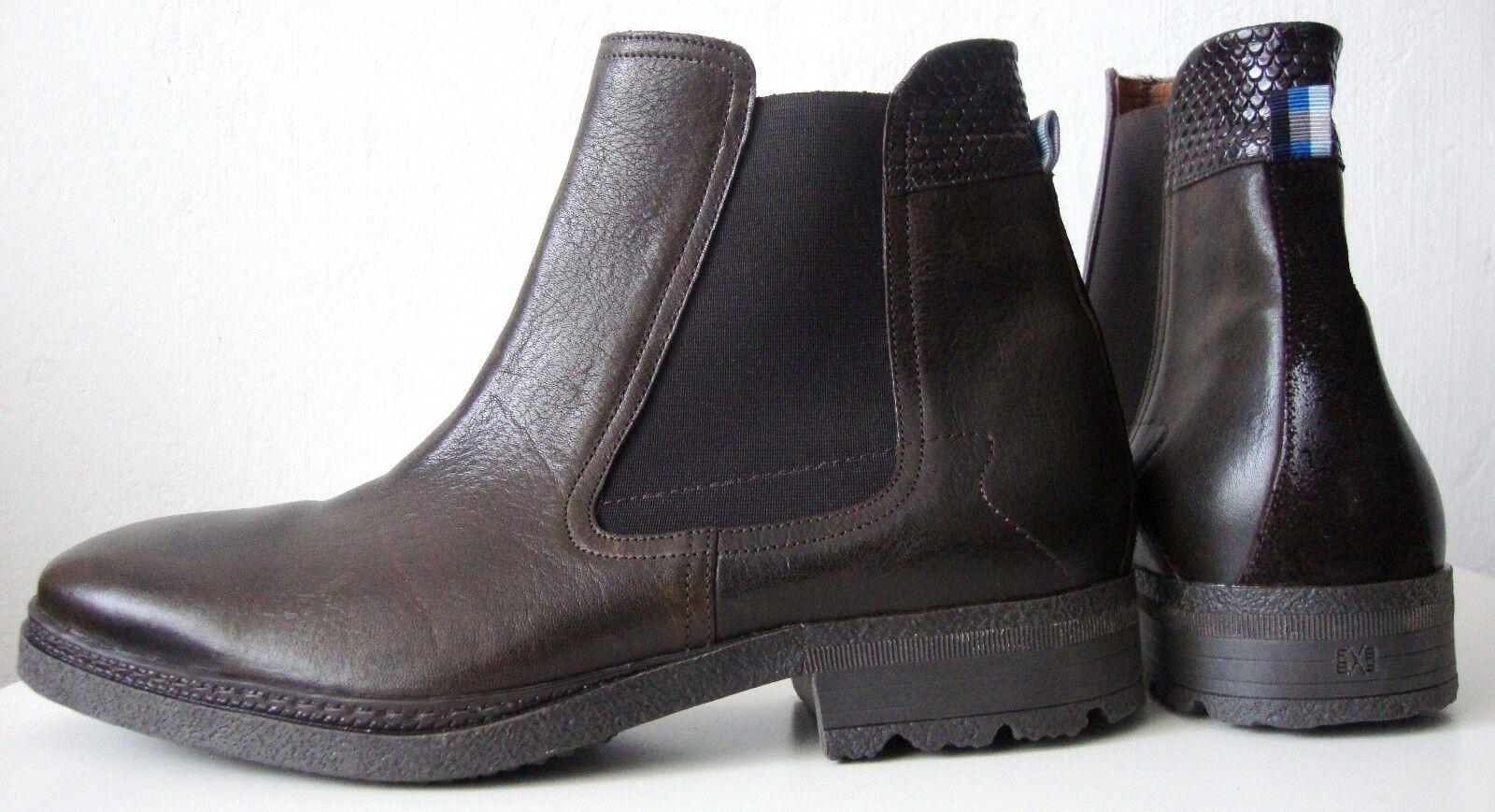 c80f17e1b70984 FLORIS VAN BOMMEL Schuhe Boots Herren Stiefel Stiefelette Schuhe BOMMEL  Halbschuhe Gr.43 NEU 87f5f8