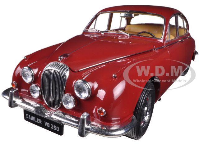 1967 - daimler - v8-250 regency maroon 1   18. nur 3000pc von paragon 98312