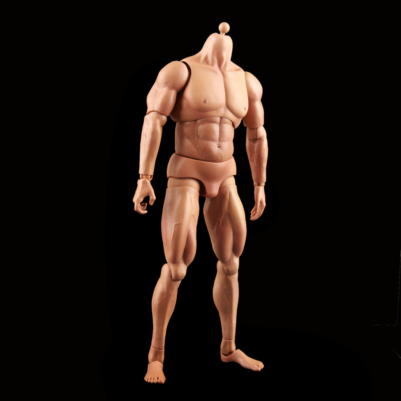 Kaustic Plastik KP02XXL Male Muscle Warrior Body Without Head Sculpt Figure Toys