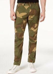 a919705fa8e G-STAR RAW 5620 3D Tapered Jeans Men Camo Aged NWT Size 31X32  170 ...