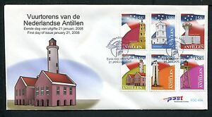 Ned-Antillen-FDC-E404-E-404-vuurtorens-lighthouse-blanco-met-open-klep