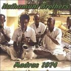 Madras 1974 by Nathamuni Brothers (CD, 2007, Fire Museum Records)