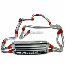 FMIC Intercooler Kit + BOV For 90-01 Mitsubishi 3000GT GTO Dodge Stealth TD04