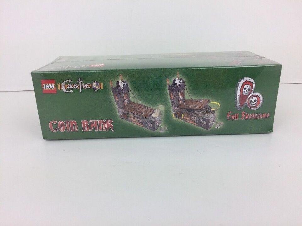 lego castle coin bank