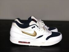 best authentic ad870 a306c item 7 Nike Air Max 1 Essential Sz 12 USA Olympic 537383-127 White Blue Red  Gold -Nike Air Max 1 Essential Sz 12 USA Olympic 537383-127 White Blue Red  Gold