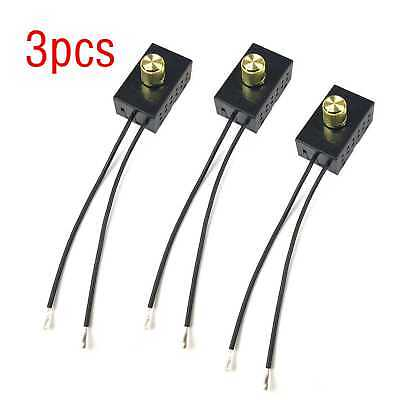 3Pcs Interrupteur De Lumière Gradateur Rotatif Pour 300 W 120VAC ZE-03A Zing Ear