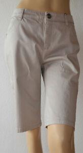Street-leichte-Bermuda-beige-Mod-Yulia-Gr-44-Neu