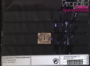 Norddeutscher-Postbezirk-D4-Pracht-gestempelt-1870-Dienstmarke-6872148