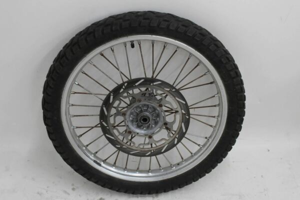 Analytisch Metzeler Enduro 3 Sahara Replacement Front Wheel And Rim With Spinless Disc Snelle Warmteafvoer