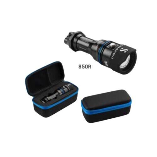 ohne Akku und Ladegerät Scubapro NOVA 850R WIDE Tauchlampe
