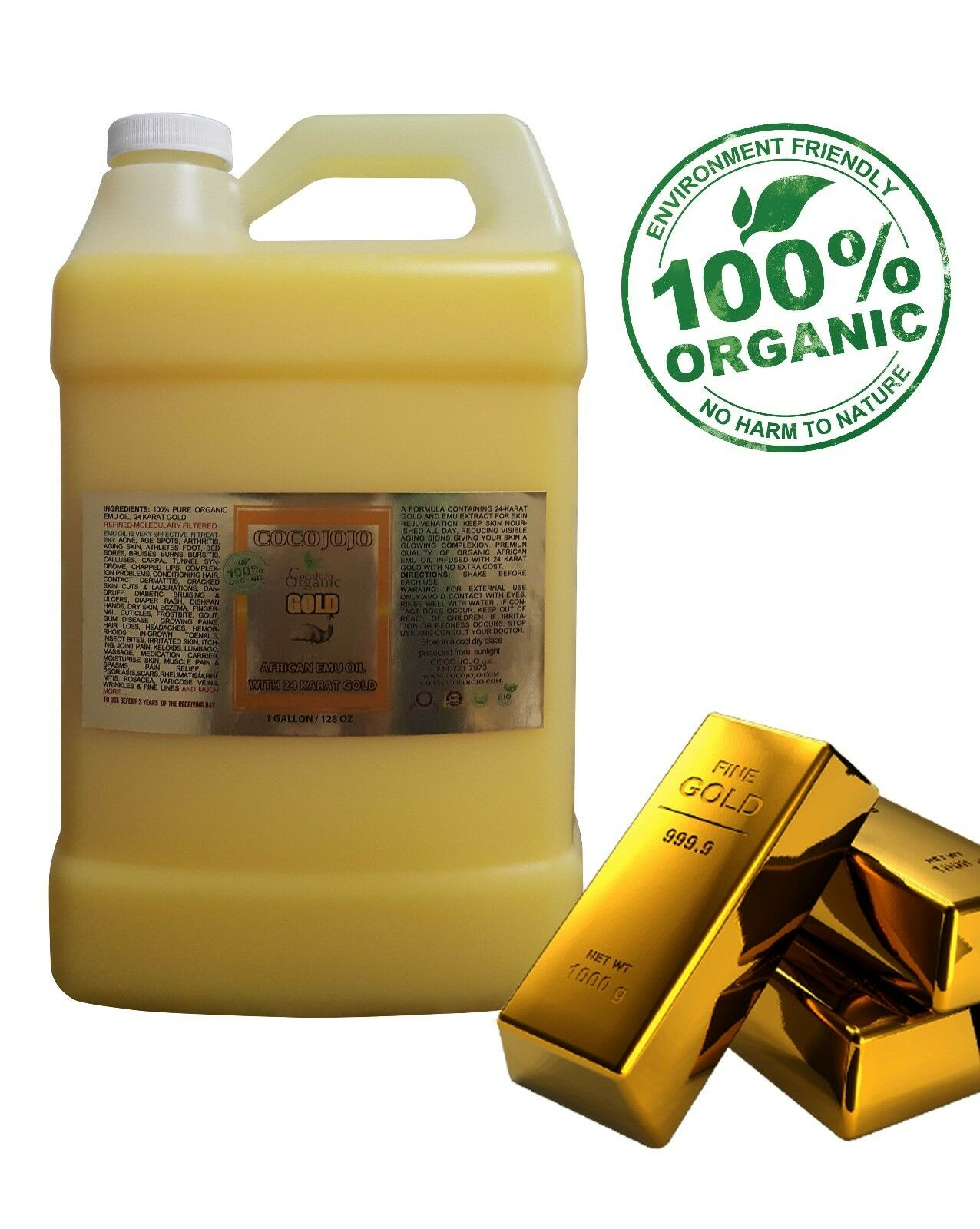 AFRICAN ORGANIC 100% PURE NATURAL EMU OIL FULLY REFINED ...