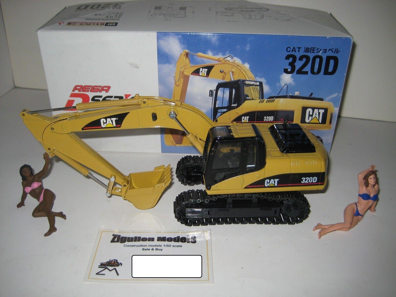 CATERPILLAR 320 D rega Excavateurs tieflöffel 1 40 neuf dans sa boîte RARE