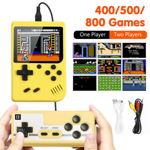 800 In 1 Handheld Game Console Retro Mini Game Machine Support TV Two Players 4