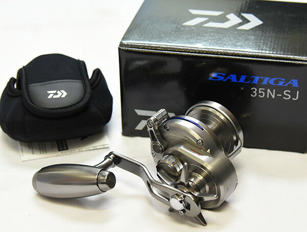 Daiwa SALTIGA 35N-SJ (RIGHT HANDLE) Bait (Slow Jigging) Reel