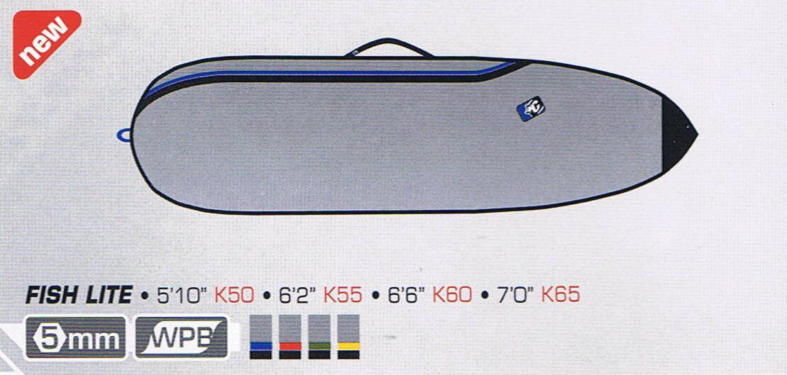Creatures of Leisure Surfboard Bag - Team Designed Fish Fun Board Bag 6'6