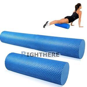 yoga ab roller eva physio foam pilates back gym exercise
