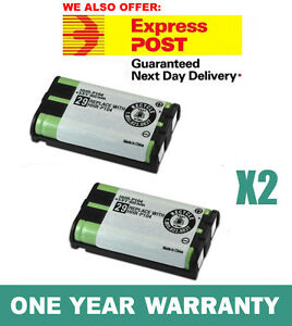 foto de 2X Battery FOR Panasonic HHR P104 Cordless Phone
