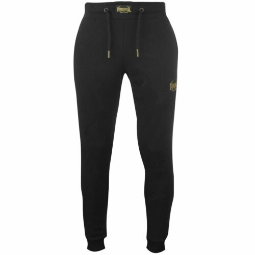 Lonsdale MTK Pant Mens Gents Fleece Jogging Bottoms Trousers Pants