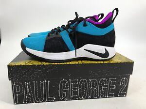 new arrivals c7b9b 50047 Details about NIKE PG 2.5 TB Purple Blue Men 9 Women 10.5 With Box Shoes  Galaxy Baskatball EUC