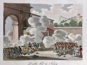 Nancy-pendant-la-Revolution-Francaise-1791-Rare-Gravure-ancienne-Meurthe-Moselle