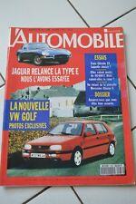 Magazine L'Automobile 538 Citroen ZX Tavria Yugo 45 Alpine A610 Turbo 911 Turbo
