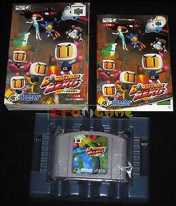 BOMBERMAN-HERO-Nintendo-64-N64-Versione-Giapponese-COMPLETO