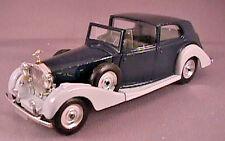 1939 Rolls-Royce Phantom III, Solido No.46, 1/43rd Scale Diecast