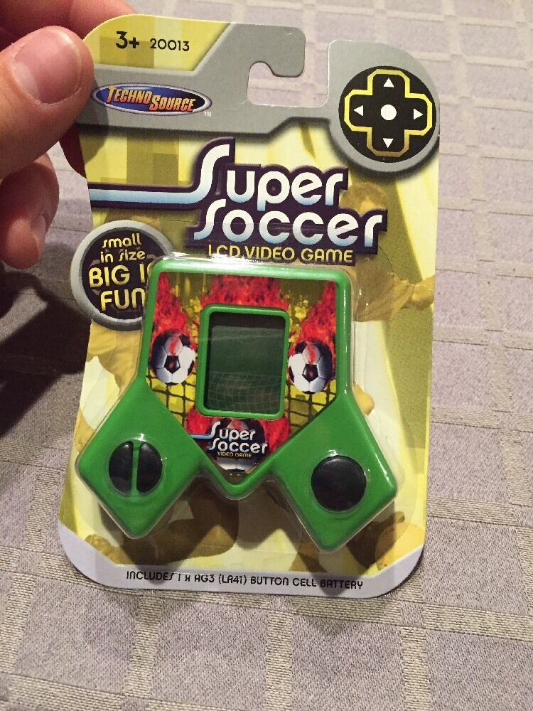 NEW SEALED Techno Source Super Soccer LCD Video Game