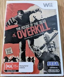 The House Of The Dead Overkill Nintendo Wii Pal With Fast Shipping