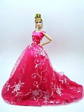Pink Party Evening Dress Outfit Gown Silkstone Barbie Fashion Royalty FR Look