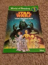 Escape from Darth Vader, Level 1 by Disney Book Group Staff and Michael Siglain (2014, Paperback)