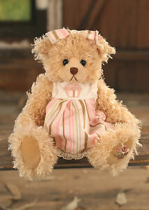 Teddy Bear 'Brenda' Settler Bears Handmade Cupcake Dress Collectable Gift 25cms