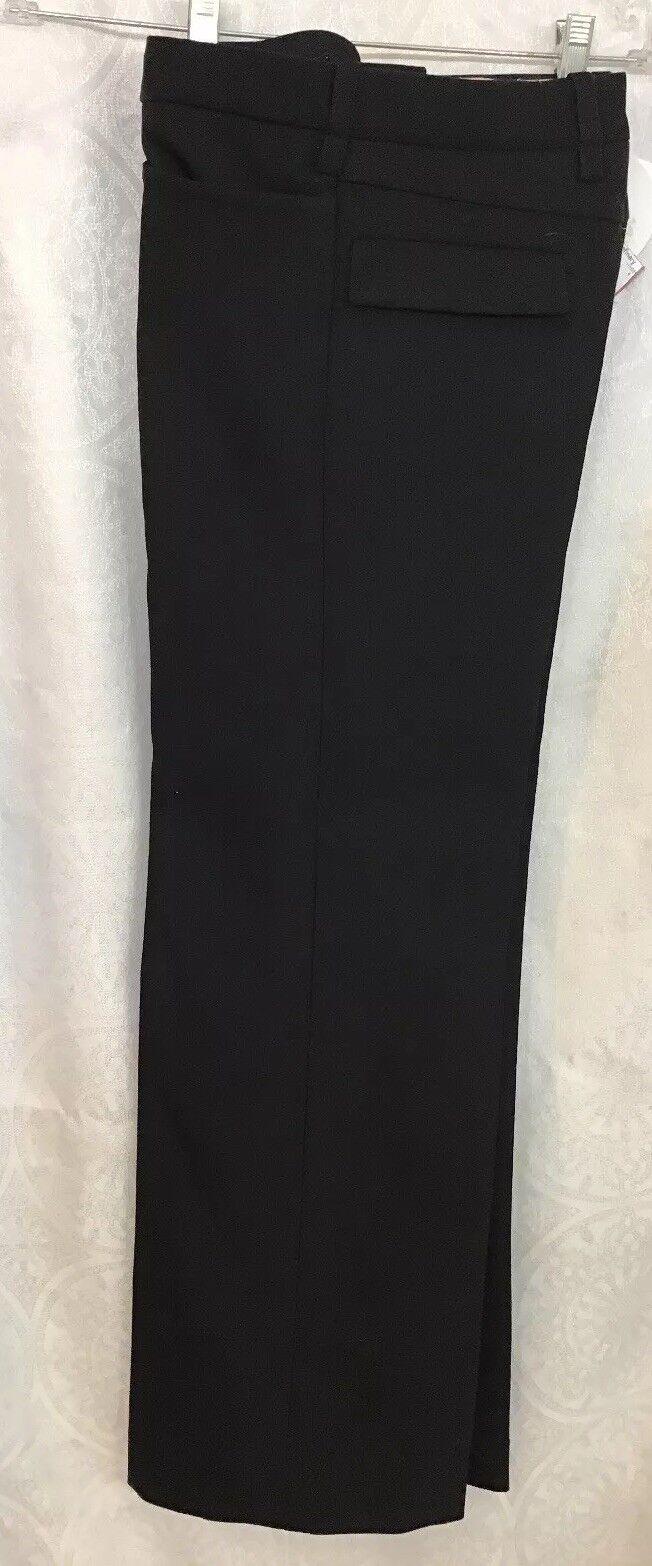 Chloe Pantalones Pantalón Negro bolsillos delanteros  y traseros tela gruesa pierna ancha talla 34 Nuevo con etiquetas  alta calidad y envío rápido