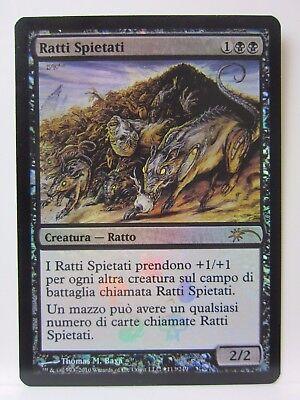 MTG RELENTLESS RATS FOIL EXC MAGIC RATTI SPIETATI DCI PROMO