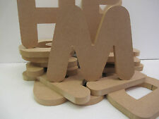 Wooden Letters Premium Quality 155mm High 18mm Thick Times Font