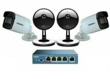 Uniden UC8400 4-Camera 1080p Outdoor Security Cloud System with 9-Port PoE